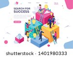 search idea  little success... | Shutterstock .eps vector #1401980333