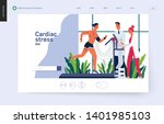 medical tests template  ... | Shutterstock .eps vector #1401985103