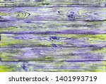 old yellow violet grunge wood... | Shutterstock . vector #1401993719