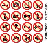 vector set of rules and...   Shutterstock .eps vector #1401999086