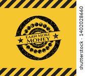 earn more money black grunge...   Shutterstock .eps vector #1402028660