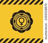 female icon grunge black emblem ...   Shutterstock .eps vector #1402028870