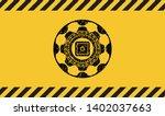 bank safe icon grunge black...   Shutterstock .eps vector #1402037663