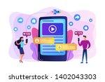 digital marketing  online...   Shutterstock .eps vector #1402043303