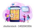 ecommerce  internet shopping...   Shutterstock .eps vector #1402043306