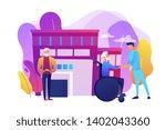 caregiving  volunteering.... | Shutterstock .eps vector #1402043360