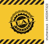 lead inside warning sign  black ...   Shutterstock .eps vector #1402047323
