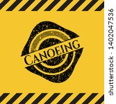 canoeing black grunge emblem ...   Shutterstock .eps vector #1402047536