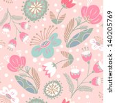 Floral Seamless Pattern.gentle...