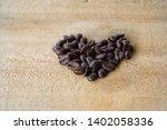 Piles Of Dark Roasted Coffee...