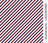 red and blue diagonal lines... | Shutterstock .eps vector #1402065980