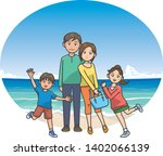 image illustration of a family... | Shutterstock .eps vector #1402066139