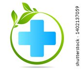 health care green medical cross ... | Shutterstock .eps vector #1402137059