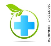 health care green medical cross ... | Shutterstock .eps vector #1402137080