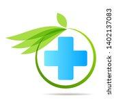 health care green medical cross ... | Shutterstock .eps vector #1402137083