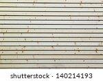 facade of wooden texture | Shutterstock . vector #140214193