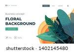 white modern design concept.... | Shutterstock .eps vector #1402145480