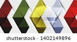 abstract geometric background.... | Shutterstock .eps vector #1402149896