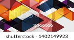 abstract geometric background.... | Shutterstock .eps vector #1402149923