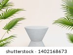 3d rendering. natural beauty... | Shutterstock . vector #1402168673