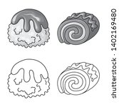 vector design of confectionery... | Shutterstock .eps vector #1402169480