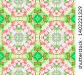 tibetan fabric. abstract... | Shutterstock . vector #1402221329