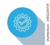 flat blue circle illustration...   Shutterstock .eps vector #1402224719