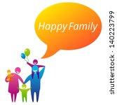 family logo concept   Shutterstock .eps vector #140223799