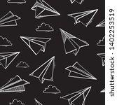 seamless pattern of paper...   Shutterstock .eps vector #1402253519