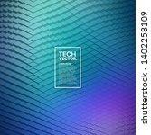 3d technological blocks... | Shutterstock .eps vector #1402258109