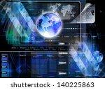 programming internet website... | Shutterstock . vector #140225863