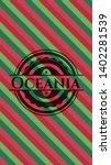 oceania christmas emblem....   Shutterstock .eps vector #1402281539