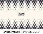 hexagon vector abstract... | Shutterstock .eps vector #1402312610