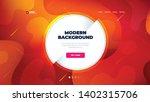 liquid color background design... | Shutterstock .eps vector #1402315706
