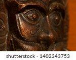 cast iron decorative figure of... | Shutterstock . vector #1402343753
