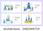 startup and teamwork concept.... | Shutterstock .eps vector #1402344719