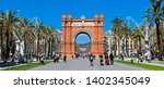 spain  barcelona  april  19 ... | Shutterstock . vector #1402345049