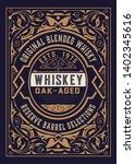 old label for packig. vector... | Shutterstock .eps vector #1402345616
