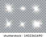 Glow Light Effect. Sun Flash...