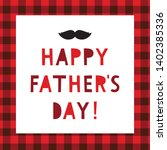 happy father's day vector... | Shutterstock .eps vector #1402385336