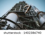 wide angle view from the bottom ... | Shutterstock . vector #1402386740
