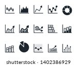 chart and graph icon set pie... | Shutterstock .eps vector #1402386929
