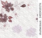 abstract flower seamless... | Shutterstock . vector #1402410176