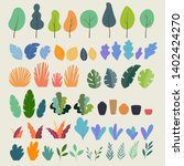 vector set of flat... | Shutterstock .eps vector #1402424270