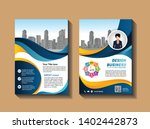 cover template a4 size.... | Shutterstock .eps vector #1402442873