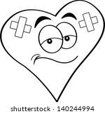 black and white illustration of ... | Shutterstock .eps vector #140244994
