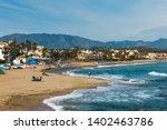 la cala de mijas  spain  april... | Shutterstock . vector #1402463786