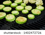 Grilled Zucchini Vegetable On...