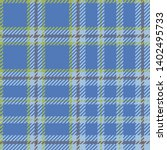 plaid madras seamless pattern.... | Shutterstock .eps vector #1402495733