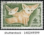 mauritania   circa 1961  stamp... | Shutterstock . vector #140249599